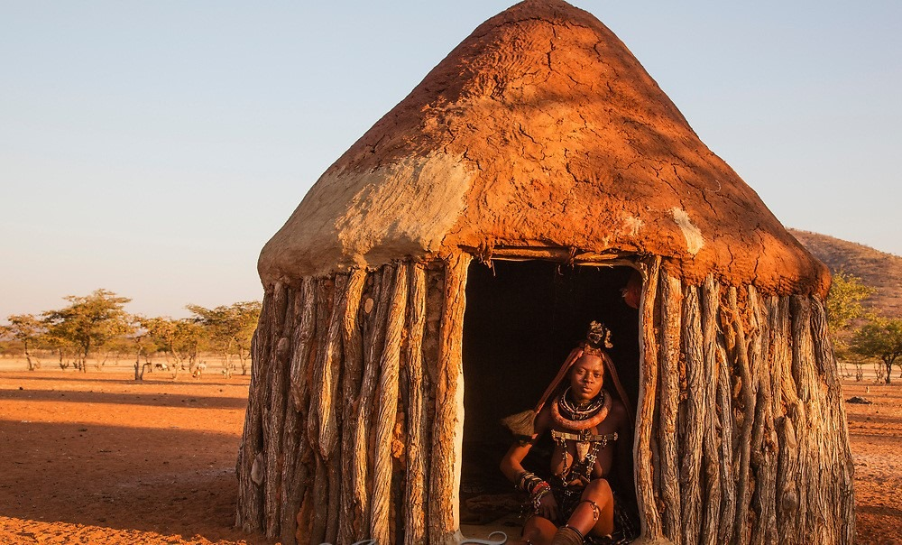 A Tribe who practises isolation / social distancing: Himba Tribe